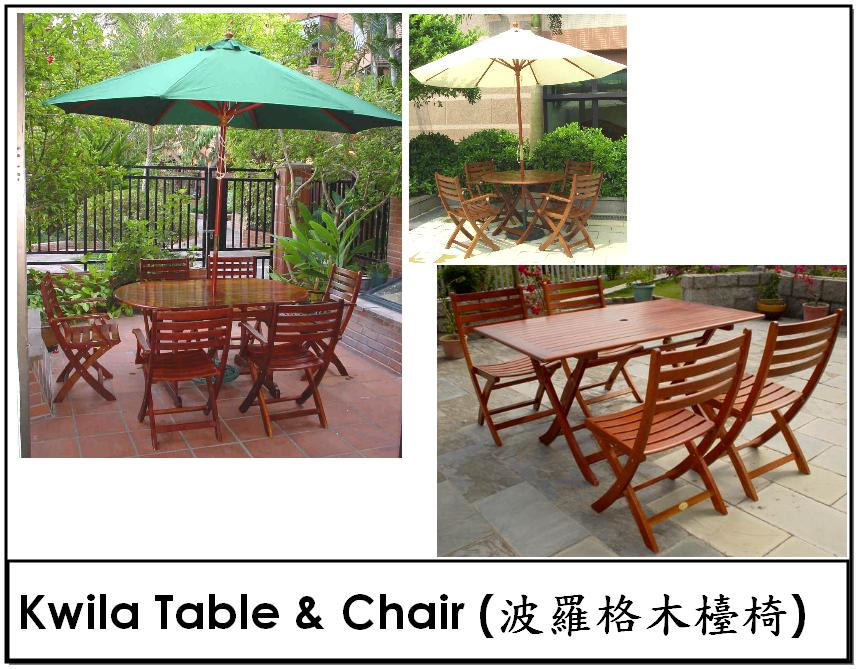 Kwila Wood Furniture
