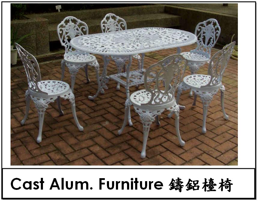 Cast Alum Furniture